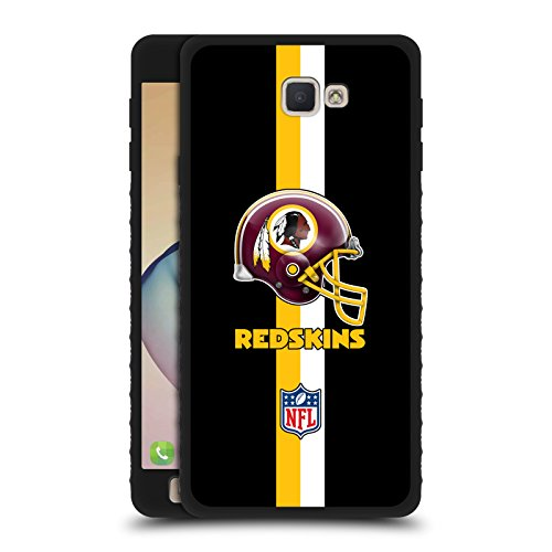 Official Nfl Helmet Washington Redskins Logo Black Armour Lite Case For Samsung Galaxy J7 Prime