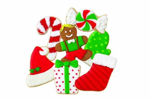 Wilton 2308-0331 Winter Holiday 7-Piece Cookie Cutter- Discontinued By Manufacturer