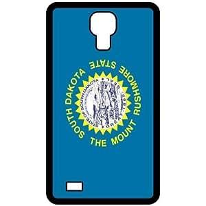 South Dakota SD State Flag Black Samsung Galaxy S4 i9500 - Cell Phone Case - Cover
