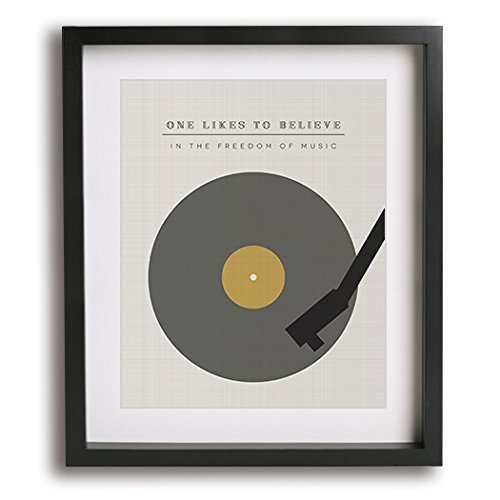 The Spirit Of Radio | Rush inspired song lyric art print – modern art wall decor 41XHuwZFmpL