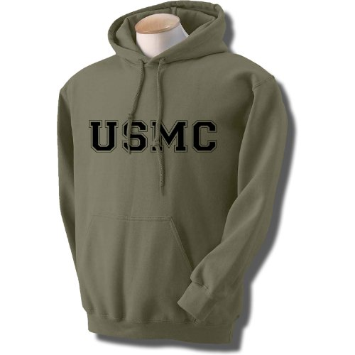 USMC Athletic Marines Hooded Sweatshirt  - Army Military Hooded Sweatshirt Shopping Results