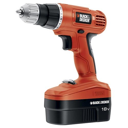 black and decker 18v drill set - 2
