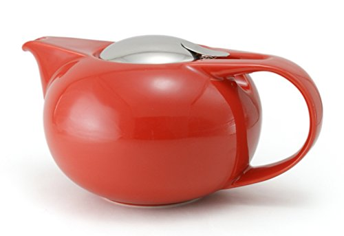ZEROJAPAN Saturn teapot R 800cc tomato BBN-37 TO (japan import)