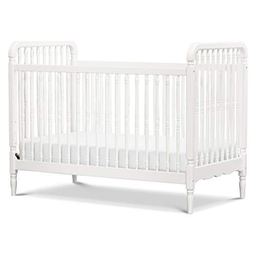 Million Dollar Baby Classic Liberty 3 in 1 Convertible Crib, Warm White