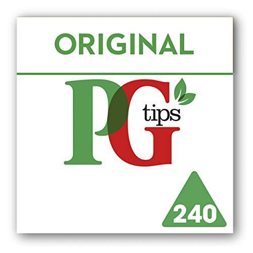 PG Tips Original Pyramid Tea Bags (Pack of 4, Total 960 Tea Bags) ()