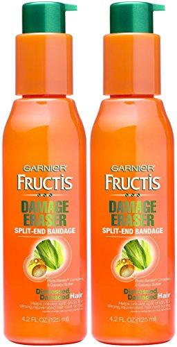 (Garnier Fructis Damage Eraser Split-End Bandage 4.2 Ounce (124ml) (2 Pack))