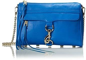 Rebecca Minkoff MAC Convertible Cross-Body Bag, Bright Blue,One Size