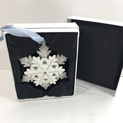 PANDORA SNOWFLAKE Collector 2015 Christmas Ornament Limited Edition w Box PUSP002 by SNOWFLAKE ORNAMENT (Image #5)