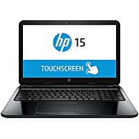 Hp Black 15.6 Touchscreen 15-g059wm Laptop with AMD Quad-core A8-6410 Processor, 4gb Memory, Touchscreen, 750gb Hard Drive and Windows 8.1