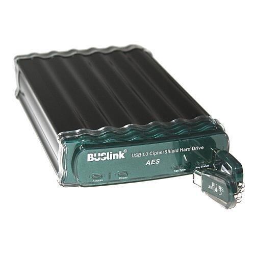 Buslink CSE-8TSU3 8TB USB 3.0/eSATA CipherShield FIPS 140-2