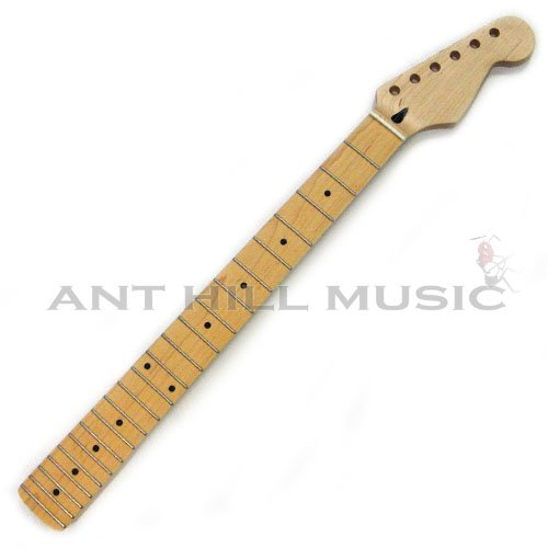 Mighty Mite Stratocaster Compound Radius Replacement Guitar Neck - Maple Fingerboard