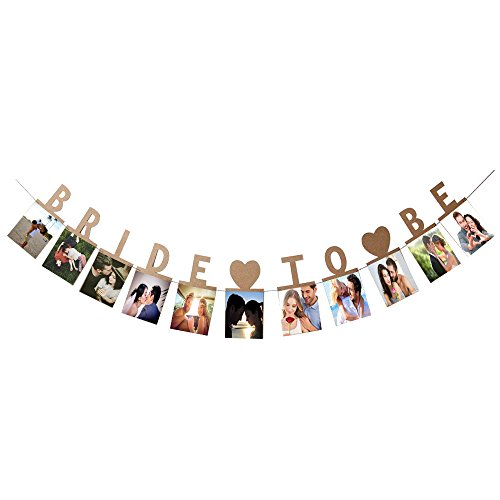 (Bride To Be Photo Banner Photo For Wedding Sign Bridal Shower Banner Hen Night Bunting)
