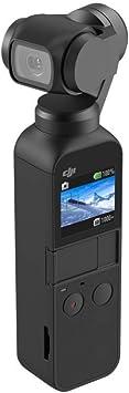DJI Osmo Pocket Versión de Bolsillo - Estabilizador portátil meanico en tres ejes, gimbal con sensor de 1/2.3'', campo de visión de 80° y apertura f/2.0, vídeo en 4K/60 fps a 100 Mbps