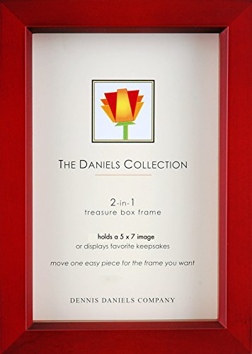 Dennis Daniels Wood Treasure Box Picture Frame, 5 by 7