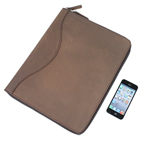 cowhide-leather-large-portfolio-business-folder-lh08-coffee-brown
