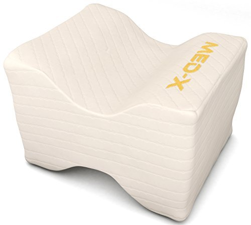 Knee Pillow Pain Relief For Sciatic Nerve   Leg   Back   Pregnancy   Memory Foam Wedge With Breathable Cover