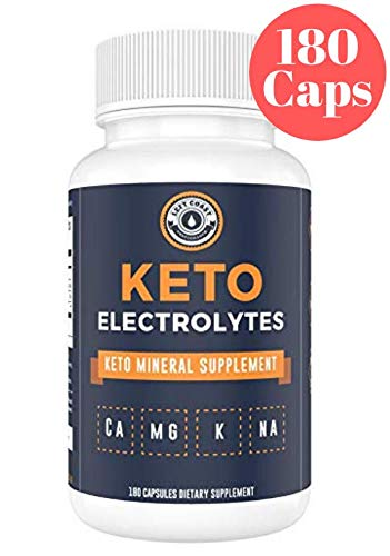 Keto Electrolyte Supplement (180 Capsules). Electrolyte Pills for Ketogenic Diet. Magnesium, Potassium, Sodium, Calcium | Electrolytes Keto Tablets for Rehydration - Left Coast Performance