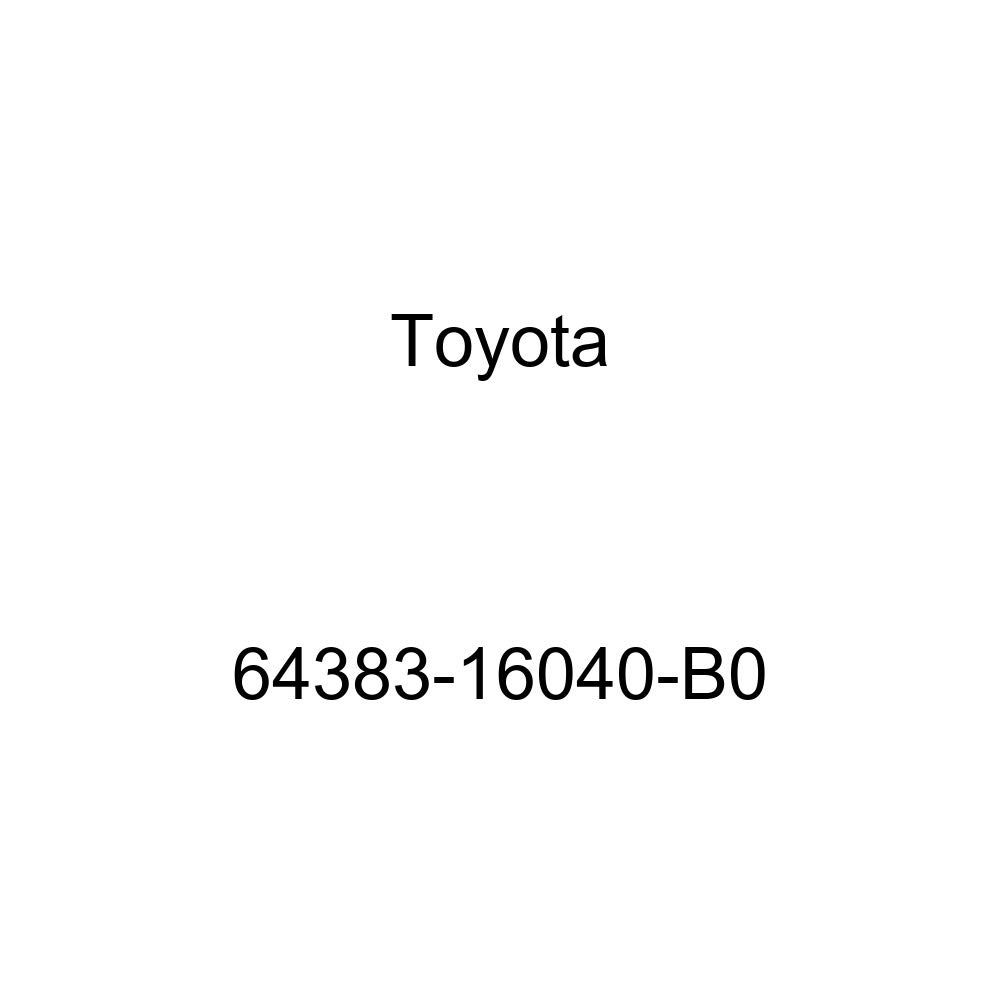 Toyota 64383-16040-B0 Speaker Grille Sub Assembly
