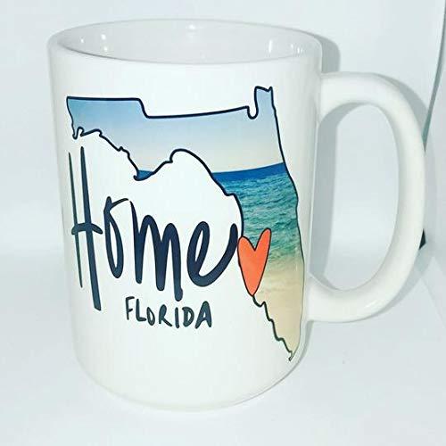 Florida Coffee Mug Home Select Your City Florida Home -