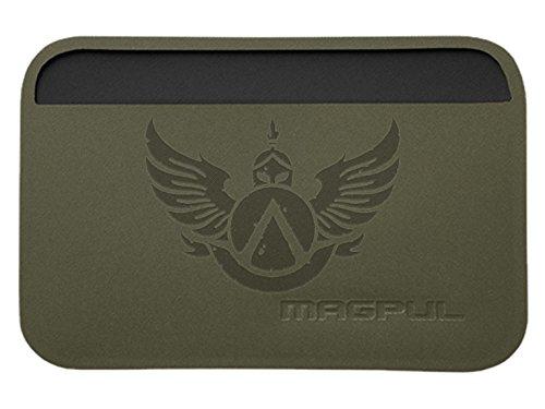 Magpul DAKA Essential Wallet MAG758 ODG Laser Engraved Spartan Shield Wings