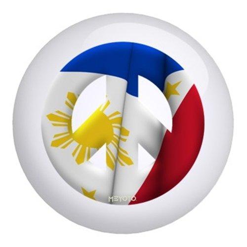 Phillippinesメヨト国旗ボーリングボール B003C21930  8lbs
