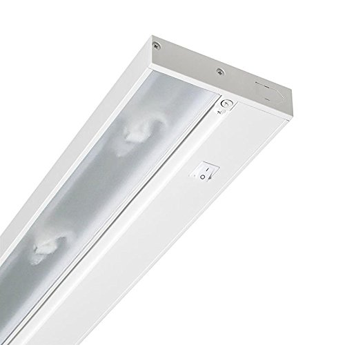 Juno Lighting Group UPX322-WH Pro-Series Xenon Under cabinet Fixture, 22-Inch, 3-Lamp, Designer White by Juno