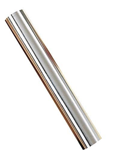 St. Louis Crafts 36 Gauge Aluminum Metal Foil Roll, 12 Inches x 5 Feet - 405803