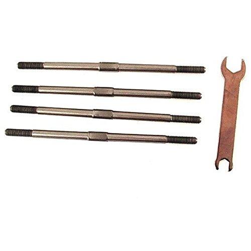 (Hot Racing TLST160 Titanium Complete Tie Rod Set)