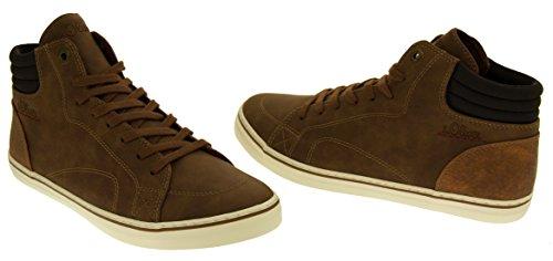 Mujer oliver Zapatillas Botas Del De Coñac Deporte Gamuza Efecto S 25208 Tobillo aSw7qwE