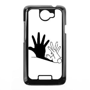 HTC One X Cell Phone Case Black Rabbit Hand Shadow JSY4259123KSL