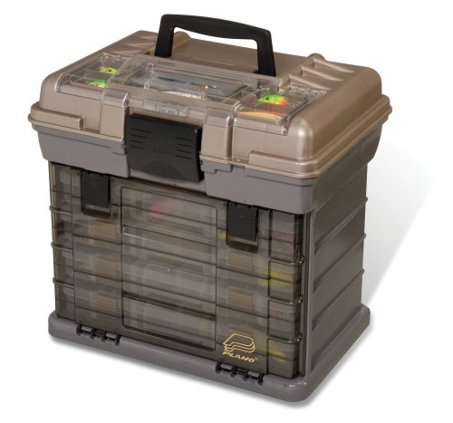 Plano 1374 4-By Rack System 3700 Size Tackle Box ()