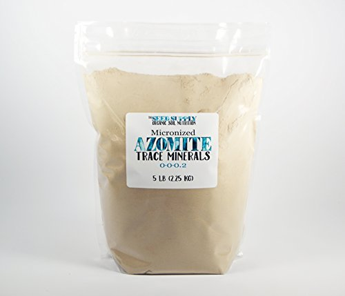 Pounds Azomite Organic Essential Minerals