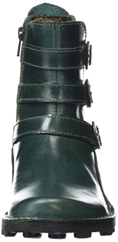 Boots Cold Short Myso Lined Petrol Green Women's Fly London Length Classic RqntWY
