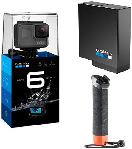 GoPro Hero6, Videocámara de acción, Pack de GoPro The Handler + Batería oficial de repuesto: Amazon.es: Electrónica