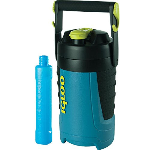 Igloo Proformance 1/2 Gallon with Freeze Stick, Ice Blue/Black/Black/Black, 64 Oz. by Igloo