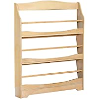 Guidecraft Expressions Natural Bookrack - Storage Bookshelf Kids School Furniture