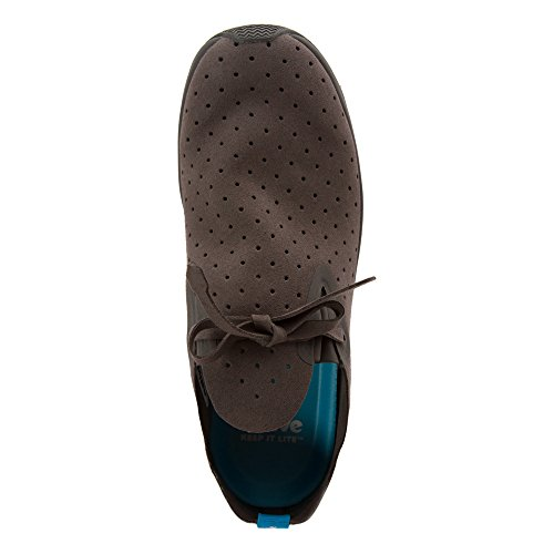 Dublin Dublin White Grey Dot Polka Moc Native Grey Shell Embroidered Apollo 0qxznw46