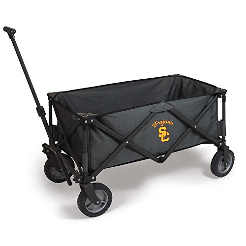 NCAA Usc Trojans Adventure Digital Print Wagon, One Size, Dark Grey/Black by PICNIC TIME