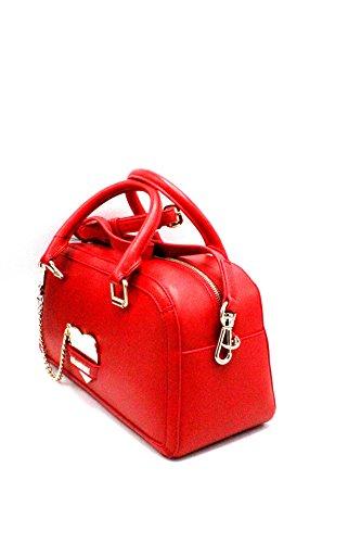 Moschino Donna Borse JC4076PP15 JC4076PP15 BAULETTO LOVE Rosso