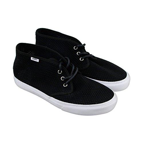Vans Prairie Chukka Dames Zwart Mesh Veterschoenen Sneakers Schoenen 10.5