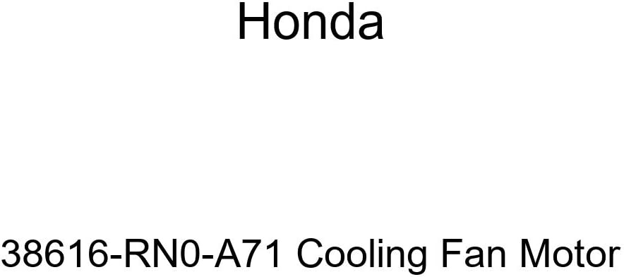 Genuine Honda 38616-RN0-A71 Cooling Fan Motor