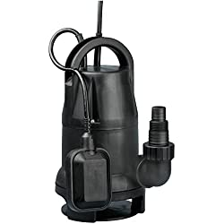 Fpower 1/2 HP 1980GPH Submersible Utility Pump Clean/Dirty Water Sump Pump With Automatic ON/OFF Float Switch for Fountain, Pond, Pool, Aquarium, Cisterns