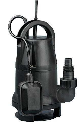 Fpower 1/2 HP 1980GPH Thermoplastic Submersible Utility Pump Clean/Dirty Water Sump Pump With Automatic ON/OFF Float Switch for Fountain, Pond, Pool, Aquarium, Cisterns by Fpower