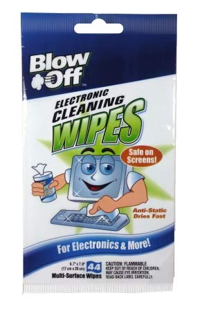 Max Professional 2644 Electronic Cleaning Wipes - 44 Multi Surface Wipes - Pack of 12