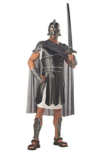 Mememall Fashion Medieval Centurion Gladiator Knight Warrior Adult Costume (Princes Leia Costume)