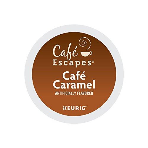 Celebration Caramels (Cafe Escapes Cafe Caramel, Keurig K-Cups, 72 Count)