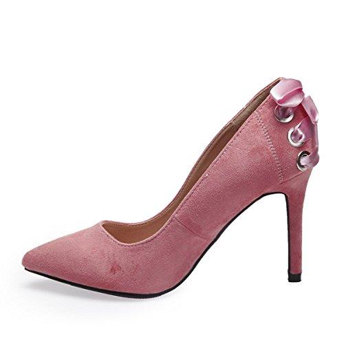 Mujer De Modeuse Sintético Rose La Zapatos Vestir Material xYzqAqfwR