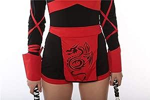 CWZJ Halloween Señora Japonesa Bushido Ninja Traje Cosplay ...