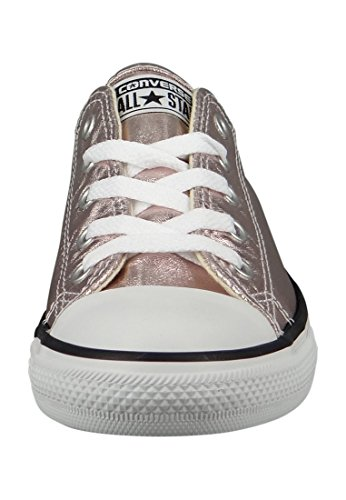 Converse Womens Chuck Taylor All Star Dainty Ox Canvas Trainers Rosa