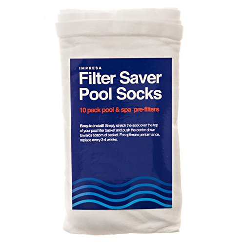 10 Pack Of Pool Skimmer Socks Perfect Savers For Filters Import It All